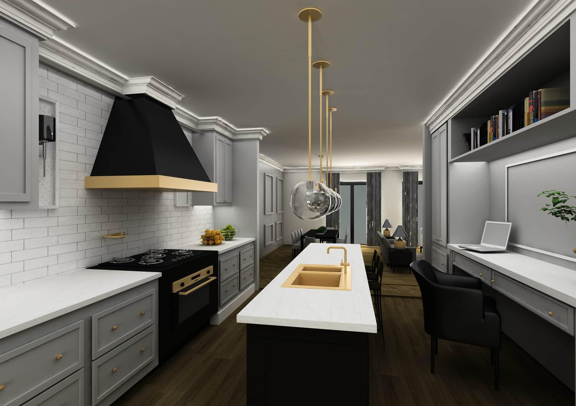 7 Austin Terrace LUX Interior Design