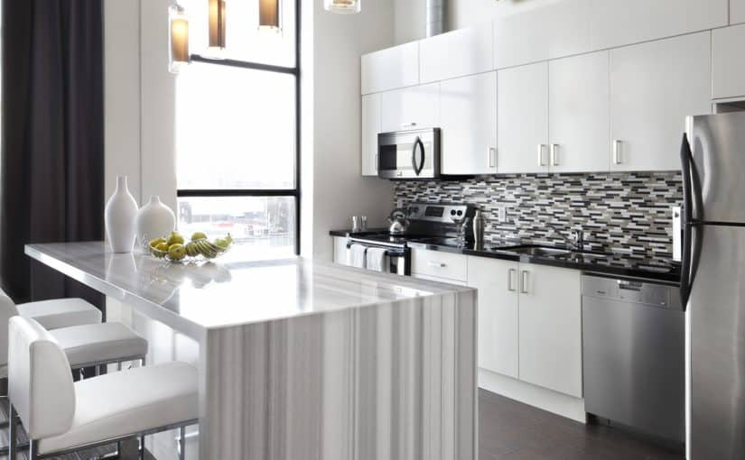 Toy factory loft design toronto white kitchen design